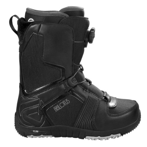 Flow Lotus Womens Boa Snowboard Boot (White/Black, 6.5 B(M) US Womens)