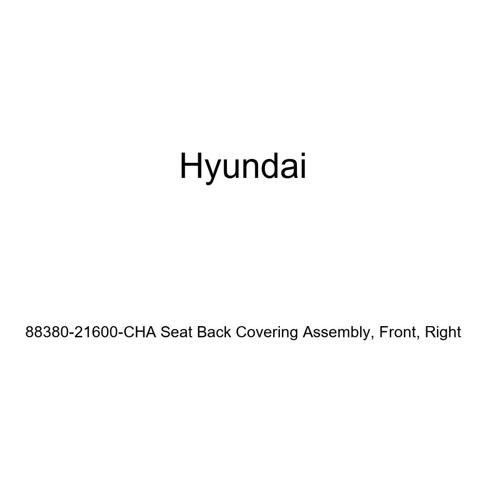 Right Front Genuine Hyundai 88380-21600-CHA Seat Back Covering Assembly