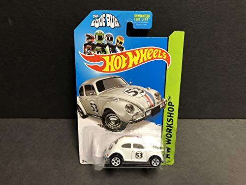 Volkswagen Beetle THE LOVE BUG 2014 Hot Wheels HW WORKSHOP 191/250 diecast car ()