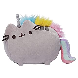 GUND Pusheenicorn Plush Stuffed Animal Rainbow Unicorn, 13""