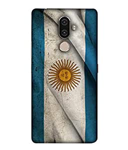 ColorKing Football Argentina 19 Multicolor shell case cover for lenovo K8 Note