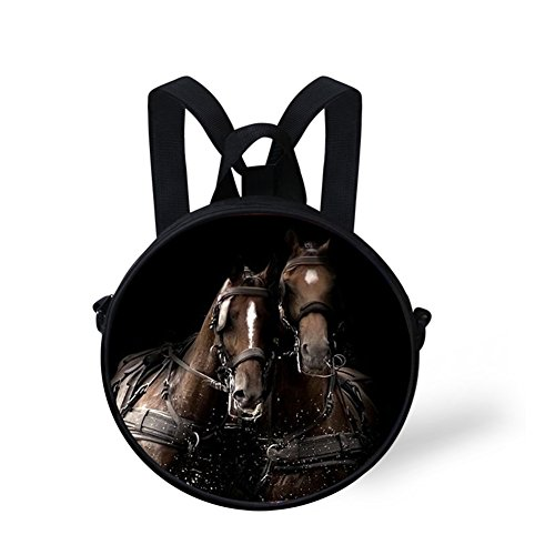 V6lc655i Bag Print for body Women Animals for Circle Round FunnyPrint Cross Women Bag q7OSRn