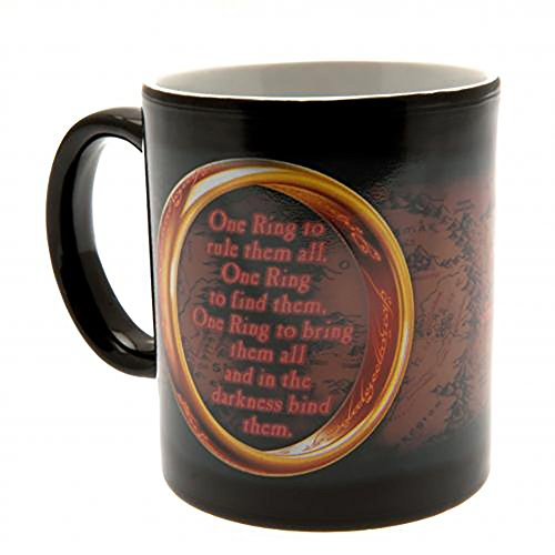 Official Licensed The Lord of the Rings - Heat Changing Mug by Official Licensed