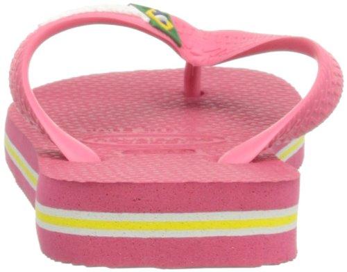 Adulto Pink Brasil EU 34 Chanclas Havaianas 33 32 Rosa 31 Neon Brazilian para Unisex 0Z6qwHIa