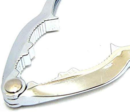 Silber Triamisu Walnuss-Clips Pinienkernen-Nussknacker Home Nussknacker-Nussknacker Walnuss-Zangen-Nuss/öffner Robuster Muschelentferner Zinklegierung