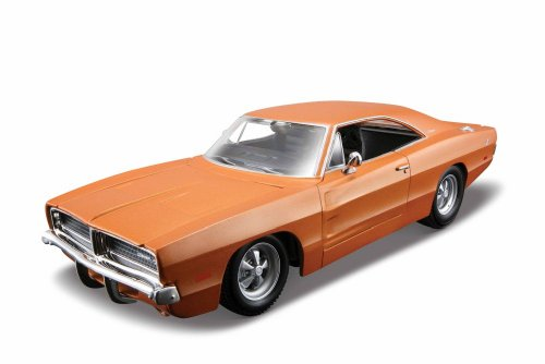 Maisto 1:25 Scale Assembly Line 1969 Dodge Charger R/T Diecast Model (24 Metal Model Kit)