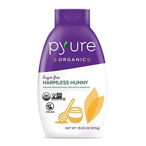 Pyure Organic Harmless Hunny, Sugar Free, Honey Alternative Sweetener, New & Improved Formulation, Low Net Carbs, Keto, 13.05 Oz