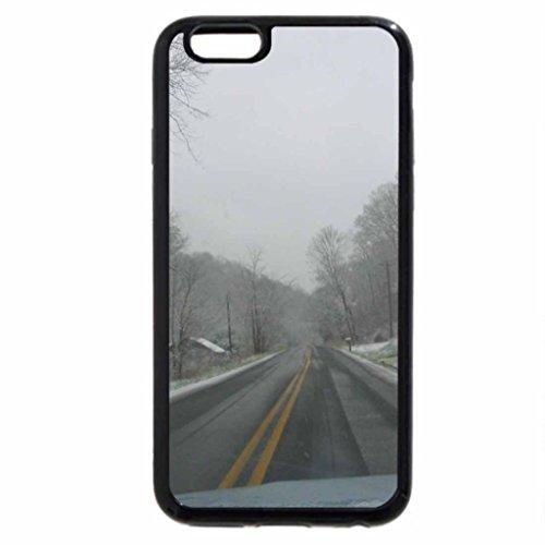 iPhone 6S / iPhone 6 Case (Black) slick roads