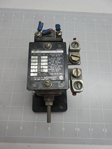 Allen Bradley 809-A06E Instantaneous Trip Relay T56329 by Allen-Bradley
