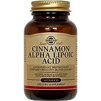 Solgar Cinnamon Alpha Lipoic Acid tablets - 60 Tablets