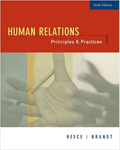 Human Relations: Principles and Practices: 6th (Sixth) Edition
