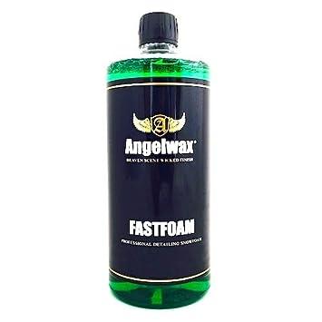 Concentrado de limpieza Fastfoam de Angelwax, para prelavado de coches: Amazon.es: Coche y moto