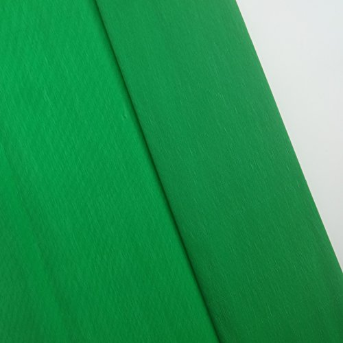 Crepe Paper Green Colors 10 Sheet 19.5 X 78 Inches Aprox