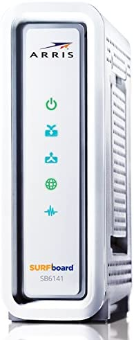 ARRIS SURFboard SB6141-RB 8×4 DOCSIS 3.0 Cable Modem (Renewed)