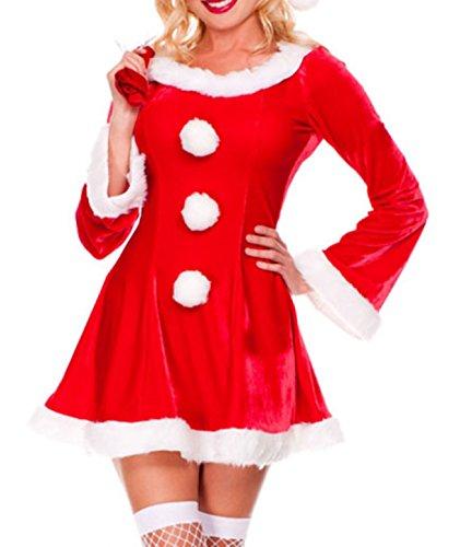Sexy Festive Sleigh Belle Santa Costume (Sleigh Belle Sexy Costume)