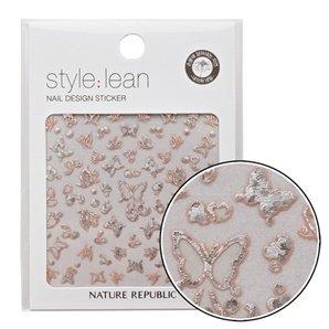 Nature-Republic-Style-Lean-Nail-Design-Sticker-01-Glitter-3D-Butterfly