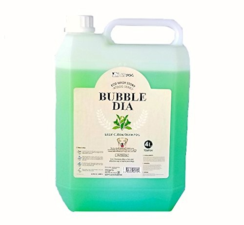 Alpha Dog Series ''Bubble Dia Shampoo & Conditioner Series - (1 Gallon) (Easy Clean Shampoo)