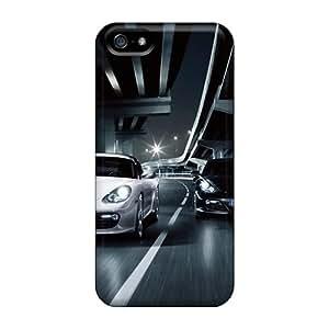 Unique Design Iphone 5/5s Durable Tpu Case Cover Cayman R