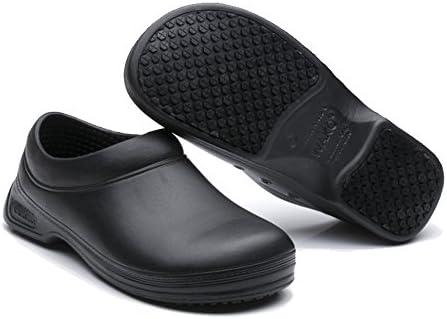 男女の滑り止め、油防止の専門のコック靴 作業靴 キッチン靴 メンズ …