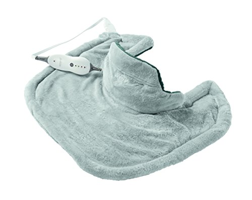sunbeam heating pad blue - 2