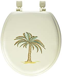 Ldr 050 1070bo Plm Deluxe Soft Toilet Seat With Stitched