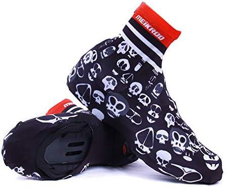 シューズカバーロードバイク サイクル 自転車防水レインブーツ靴カバー女性用滑り止め再利用可能洗えるレインスノーブーツカバーオートバイブーツレインスーツ 防風 撥水 保温効果で足下をしっかりカバー (Size : L 41-42)