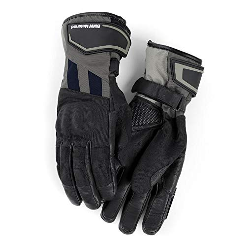 BMW Genuine Motorcycle Motorrad GS Dry, men's glove - Color: Black / Anthracite - Size: EU 11 - 11 1/2 US 11 - 11 1/2