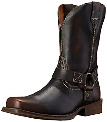 Amazon.com | Ariat Men's Rambler Harness Western Lifestyle Boot ...
