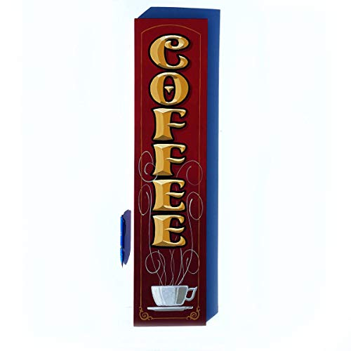 Coffee Shop sign hand painted by Chuck Peterson Designs