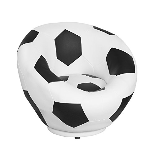 Soccer Ball Kids Swivel Chair by Nursery Smart