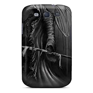 Excellent Hard Phone Case For Samsung Galaxy S3 With Customized Fashion Grim Reaper Pictures JonathanMaedel