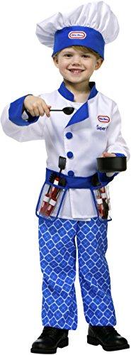 Little Tikes Blue Restaurant Kitchen Chef Toddler Costume -