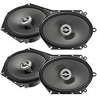 New 2Pairs Infinity PR8602cf 6x 8 5x 7 2-Way Speakers 180W 6 x 8 5 x 7