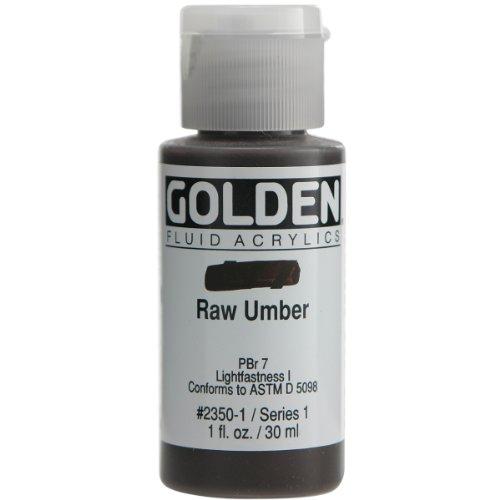 Golden Fluid Acrylic Paint Ounce Raw product image