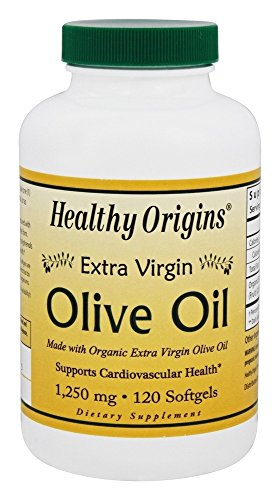 Healthy Origins Extra Virgin Olive Oil Softgels, 120 Count by Healthy Origins