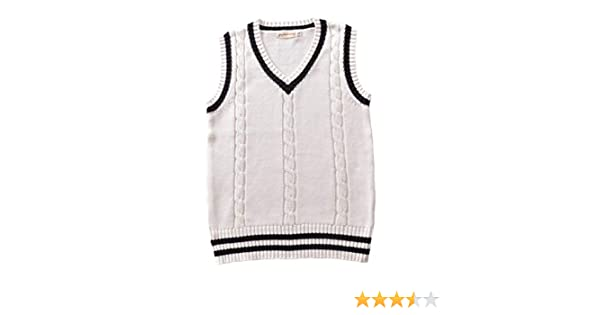 E.JAN1ST Womens Sweater Vest Knitted V Neck Classic Stretchy Pullover Vest Top