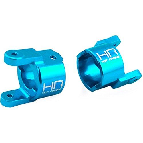 Hot Racing ETE1906 Blue Aluminum Front Axle C-Hubs (2) - 1/18 ECX Temper