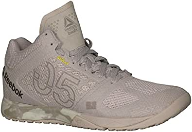 Reebok Crossfit Nano 5.0 Mid Shoes - Sand Stone / Beach Stone / Chalk / Parchment - Womens - 6