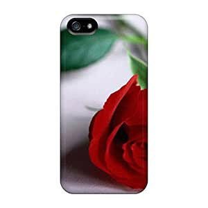 Cute Appearance Cover/tpu VcgrJgP6815lAtQw Flower Delivery Case For Iphone 5/5s