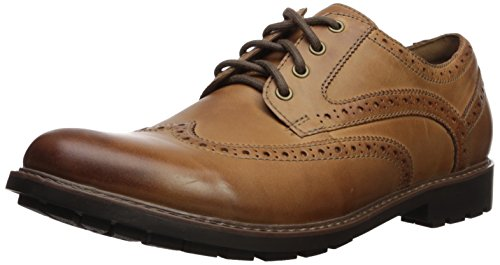CLARKS Men's Currington Wing Oxford
