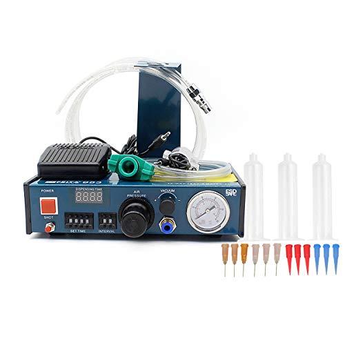 FEITA 983 Auto Glue Dispenser AC 110v Digital Display Solder Paste Liquid Controller Dropper Machine ()