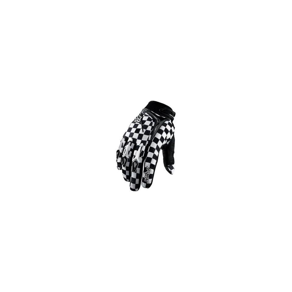 Fox Racing 360 Gloves   8/Black/White Automotive