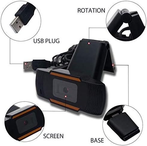 Lovebay HD Webcam Desktop Laptop USB Plug /& Play 480P Web Camera for Live Class Conference Rotatable Video Camera Desktop Laptop Webcams