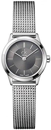 K3M23124 Calvin Klein Ck Minimal Stainless Steel Ladies Watch