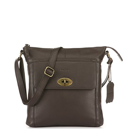 x Cross 27 Body Small 27 Amber Size Bag Brown Antler x Amber Leather 3 t48wfq