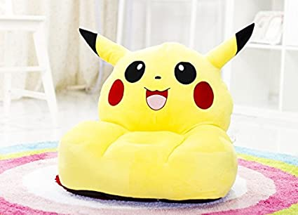 Superb Wsa Retail Kids Plush Sofa Chair Comfortable Anywhere Carried Used Like Beach Home Terrace Restaurant Kids Favorite Spot To Sit Pokemon Pikachu Kids Gmtry Best Dining Table And Chair Ideas Images Gmtryco