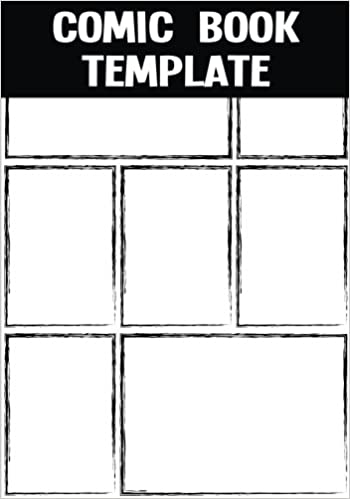 Comic Book Template:Blank Comic Book   Basic 7 Panel 7x10 Over 100 Pages,  Create By Yourself, For Drawing Your Own Comic Book (Blank Comic Strips)Volume.7:  ...