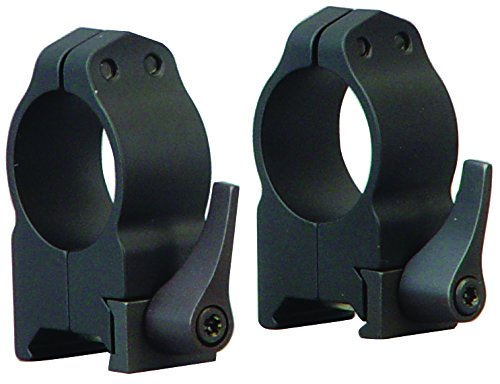 Warne 1 Inch Quick Detach Rings Medium Matte ()