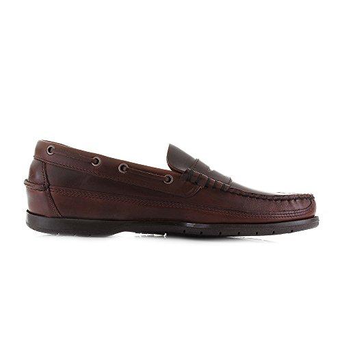 Sebago Sloop - Scarpa, taglia Total Brown Brushed Leather