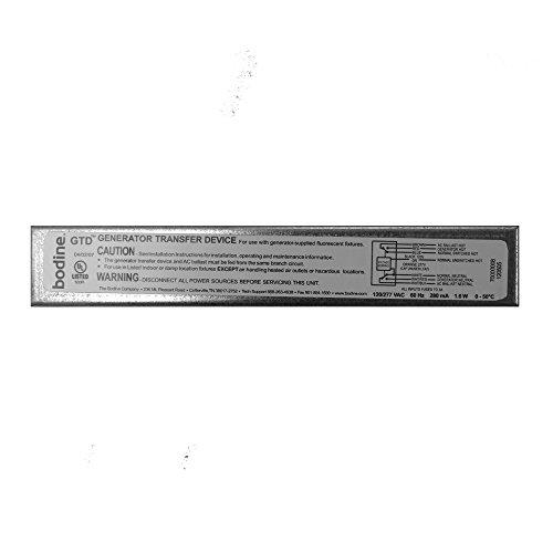(Philips Bodine GTD Fluorescent Generator Transfer Bypass Device, Ballast, Elcu, Emergency Lighting)